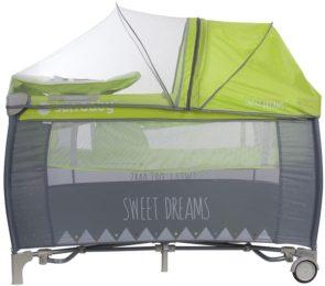 łóżeczko turystyczne dwupoziomowe