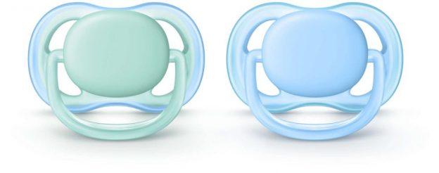 Smoczek ortodontyczny, Ultra Air, Avent, 2pak, 6-18m